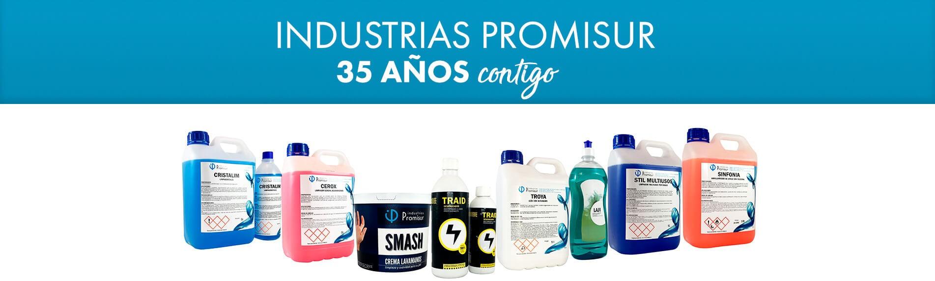 Industrias Promisur. 35 Años contigo
