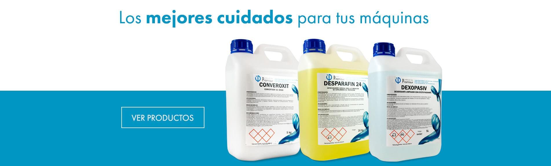 Productos para la limpieza y mantenimiento de Maquinaria